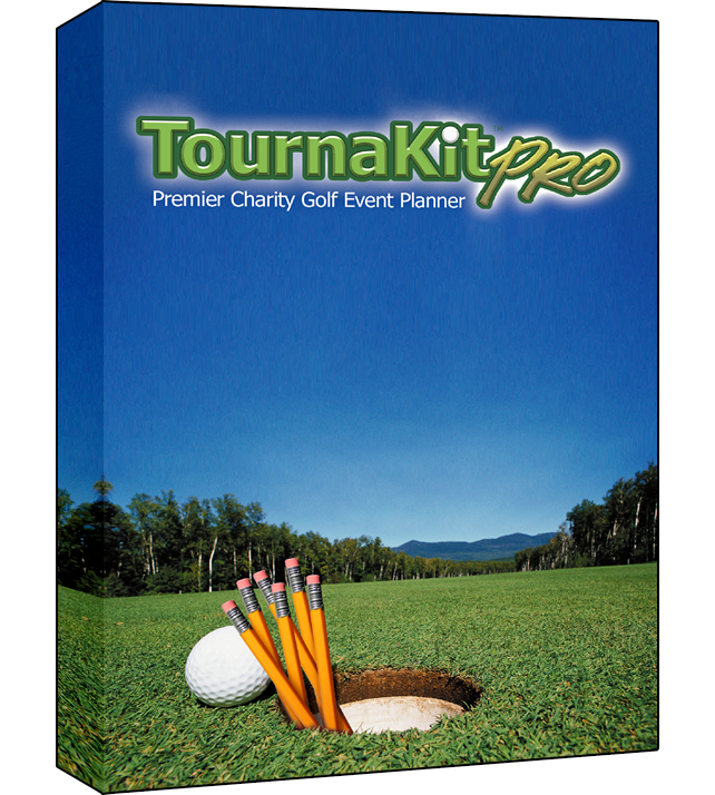 TournaKit Pro Charity Golf Tournament Software Software Package